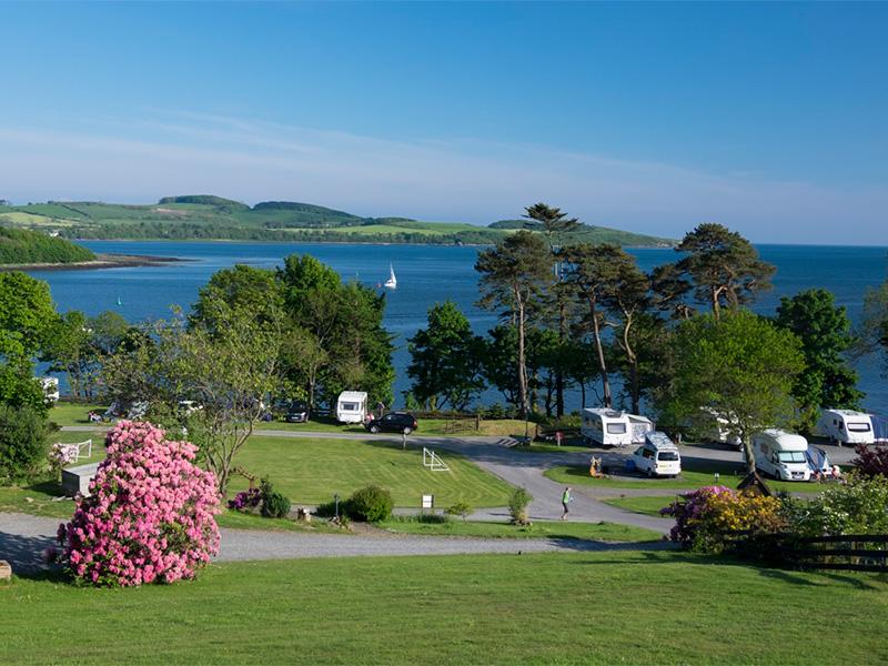 View over Kirkcudbright Bay